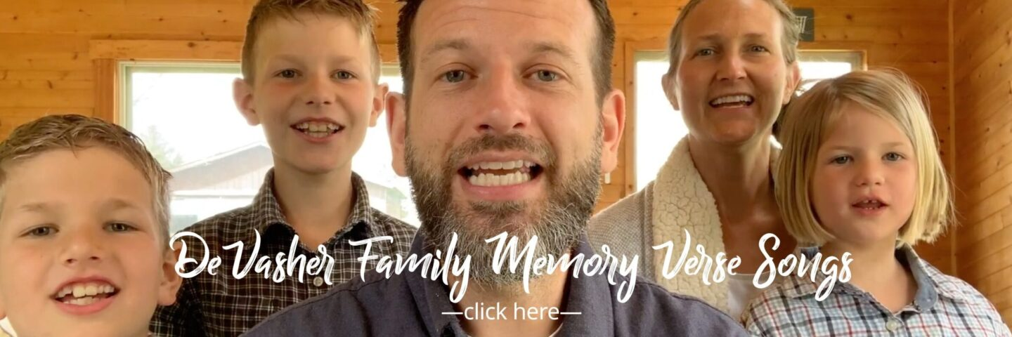 DeVasher Family Memory Verse Songs